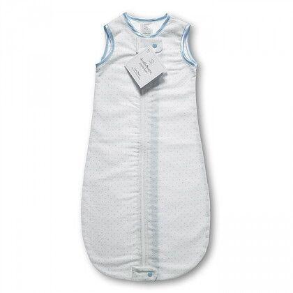 Спальный мешок для новорожденного SwaddleDesigns zzZipMe Sack 3-6M Flannel PB Polka Dots