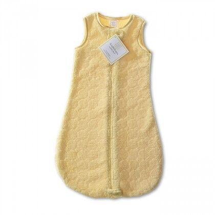 Детский спальный мешок SwaddleDesigns zzZipMe 3-6 М Yellow Puff Circle