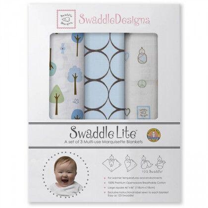 Наборы пеленок SwaddleDesigns SwaddleLite Cute & Calm