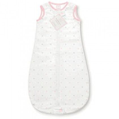 Спальные мешки для новорожденных Фланель Маленькие точки