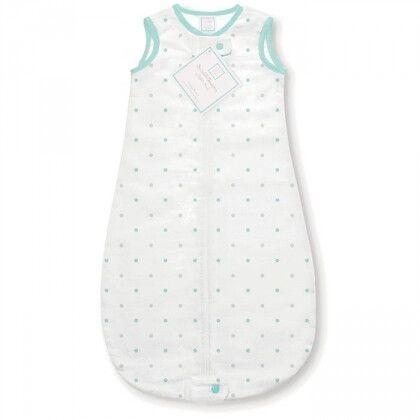 Спальный мешок для новорожденного SwaddleDesigns zzZipMe Sack 3-6M Flannel SC/ST Little Dot