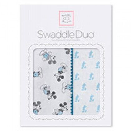 Наборы пеленок SwaddleDesigns Swaddle Duo Disney Classic