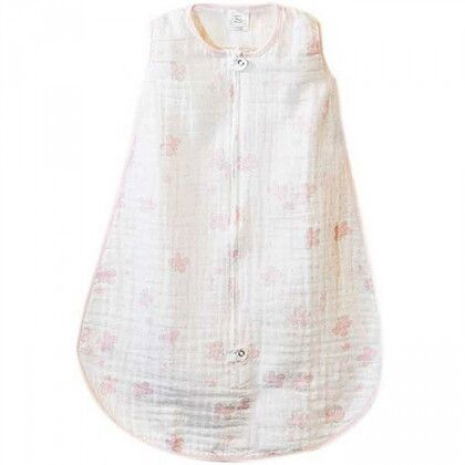 Спальный мешок Muslin zzZipMe Sack - 6-12M Pink Butterflies