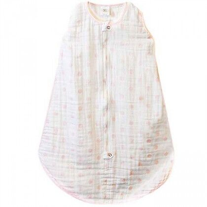Спальный мешок Muslin zzZipMe Sack - 6-12M Pink Dots