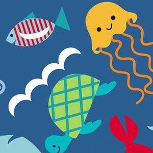 Ланч бокс сумочка Itzy Ritzy Snack Happens Under the Sea
