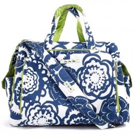 Дорожная сумка или сумка для двойни Ju-Ju-Be Be Prepared cobalt blossoms