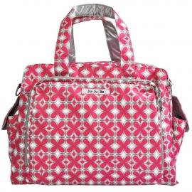 Дорожная сумка или сумка для двойни Ju-Ju-Be Be Prepared pink pinwheels