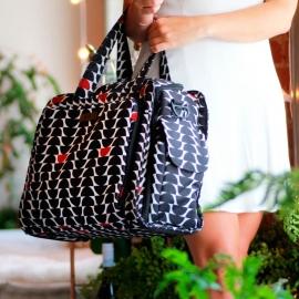 Дорожная сумка или сумка для двойни Ju-Ju-Be Be Prepared onyx black widow