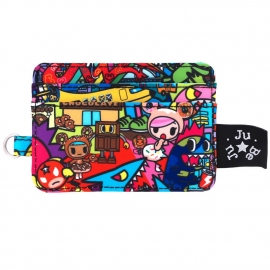 Визитница Ju-Ju-Be Be Charged Tokidoki Kaiju City