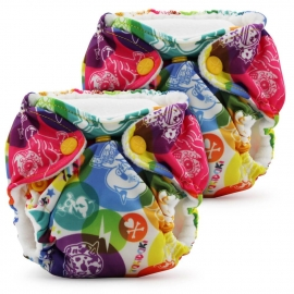 Многоразовые подгузники для новорожденных Lil Joey Kanga Care 2 шт. tokiCorno