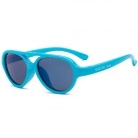 Детские солнцезащитные очки Real Kids Авиаторы 7+ неон голубые