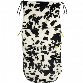 Конверт Buggysnuggle Cow Black / White /искусственный мех
