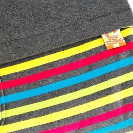 Флисовый конверт Buggysnuggle Fluoro / Charcoal
