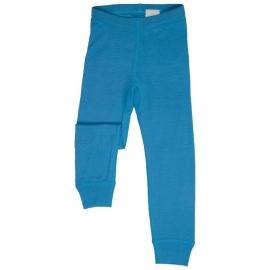 Леггинсы из шерсти мериноса голубые (размер 7-8 лет)