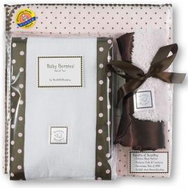 Подарочный набор для новорожденного Gift Set PP w/ Brown Dot