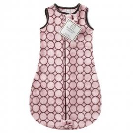 Спальный мешок детский SwaddleDesigns zzZipMe 3-6 М Pink w/BR Mod C