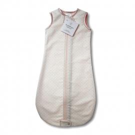 Спальный мешок для новорожденного SwaddleDesigns zzZipMe Sack 6-12M Flannel Lt PP w/PP Dots