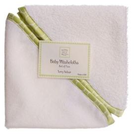 Детские мочалки SwaddleDesigns Washcloth set WH w/KW M Mod