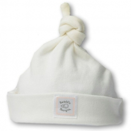 Шапочка Organic Knotted Hat Ivory w/PP Dots