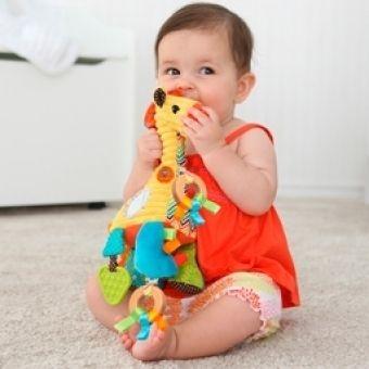Развивающие игрушки для новорожденных и малышей