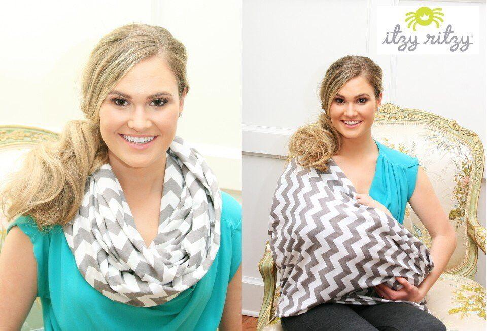 шарф кормящей мамы купить