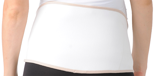 бандаж вид со спины